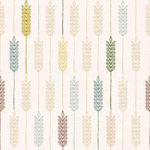 Wheat Field Multicolor - 12 inch repeat