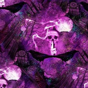 Haunted Forest Phantasmagoria Neon - Large