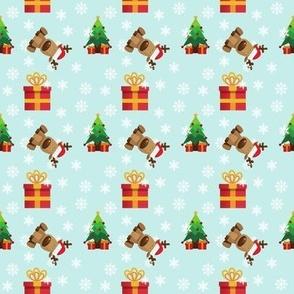 Christmas Gifts and Reindeer
