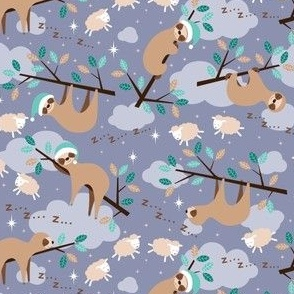 bedtime sloth - xs