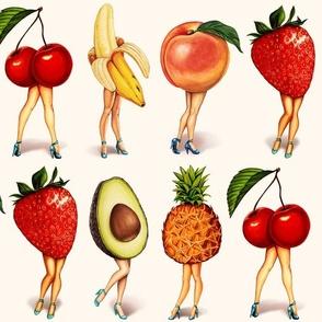 "Fruit Girls - 6"""