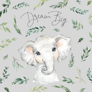 18x18 cushion cover elephant