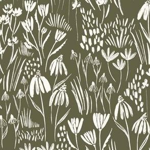 Woodland Floral - Forest Plain Large - Hufton