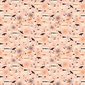 Halloween Mummy Animals Pastel Micro
