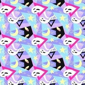 Spooky Color Block 1/4 Size Horizontal
