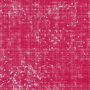 Linen Distressed Raspberry Design