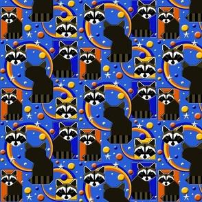 Retro Raccoons 1970s