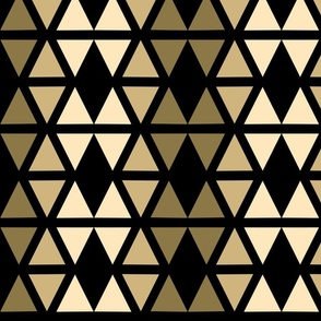 Triangles brown