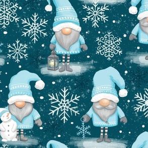 winter wonderland - gnomes