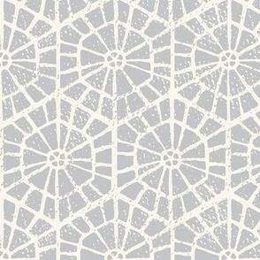 neutral geometric wallpaper block print slate large scale