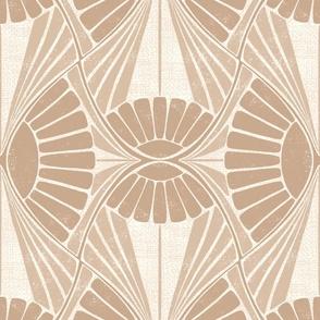 Geometrical Sunflower Beige