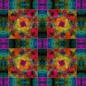 Abstract Clematis