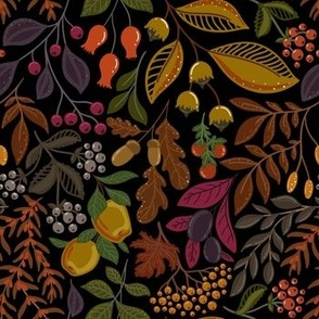 AUTUMN FRUITS AND BERRIES