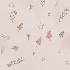 Watercolor Forest Scatter