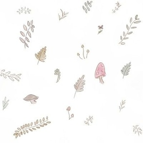 Forest Scatter White