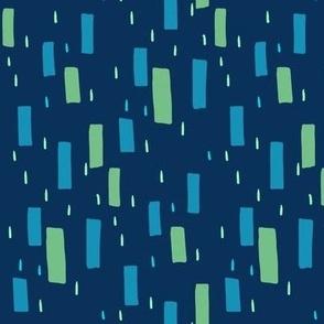 Atomic Confetti Cerulean