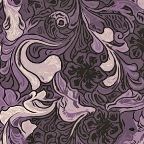091021 Art Nouveau purple