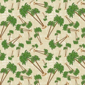 Palm Trees Christmasin Cream