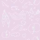 veggie world - pink