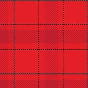 Red Plaid Christmas