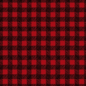 Painted Plaid - Buffalo - Itsy Bitsy Scale