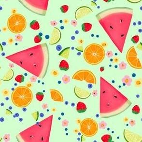 Summer Fruit on Sage II