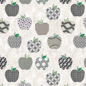 Grey apples