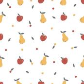 Apple pear pattern