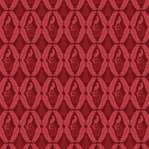Red Damask classic  texture