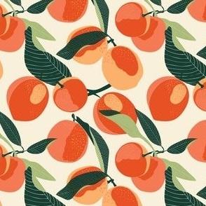 Peaches light background texture