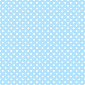 Baby Lion Nursery Dots Blue