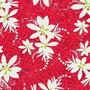 Tropical Christmas Hero Print 3