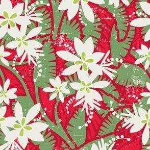 Tropical Christmas Hero Print 2