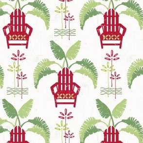Tropical Christmas Hero Print 1