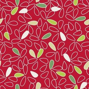 Christmas Petals Blender Pattern