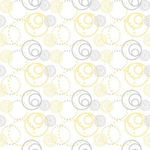 Baby Lion Nursery Circles Yellow