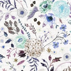 Sonetto Floral (purple) JUMBO