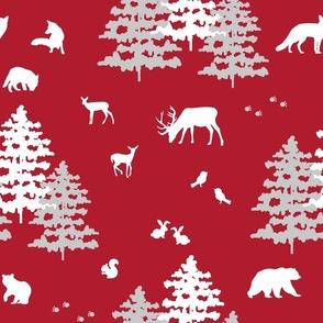 Winter Woodland Animals