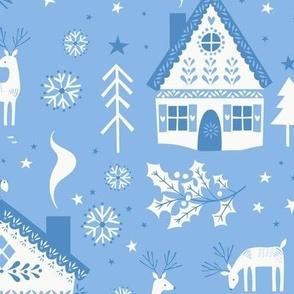 Nordic Christmas Blue