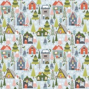 Winter Village - Sm Scale
