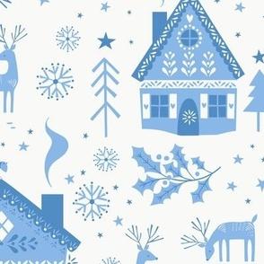 Nordic Christmas White
