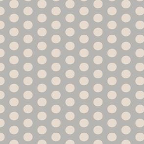 Christmas Polka Dark Grey