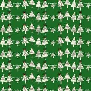 Mistletoe Forest Green