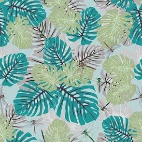 Blue Tropical Eden Variation