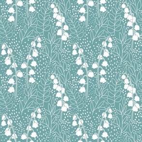 Lily Of The Valley - Aqua
