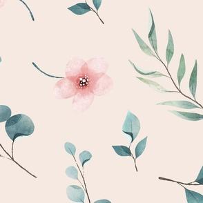 Pretty Wildflower Meadow