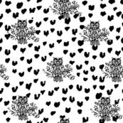 Black and White Collage Medium