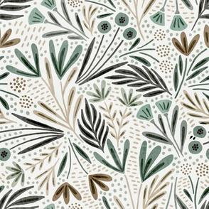 Henrietta (watercolor green)