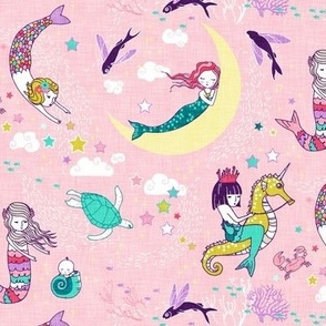 Mermaid Lullaby (candy rose) SML
