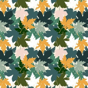Blaetter Herbstboden